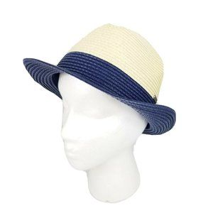 Roxy Boho Chic Sun Hat Fedora Tan / Navy S/M